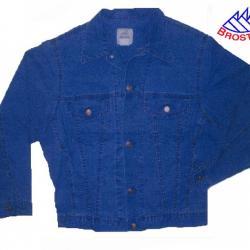 Blouson Bleu de Chine en Coton Broston