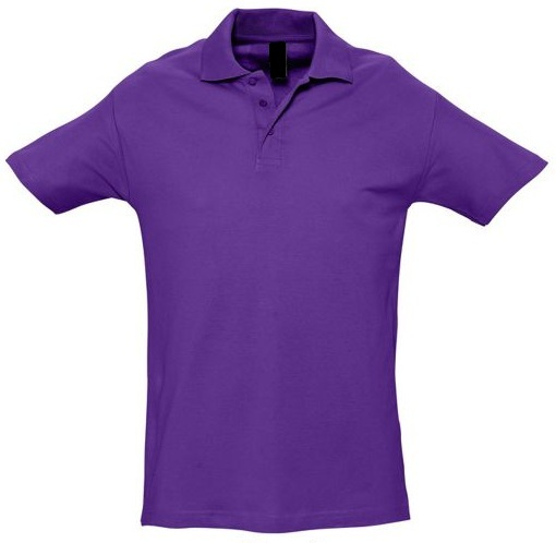 POLO VIOLET FONCE