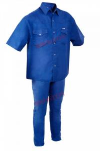 Ensemble Chemise Bleu de Chine